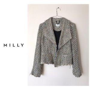 Milly Tweed Blazer Jacket